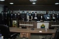A Câmara Municipal de Coari realizou no dia 05 de outubro de 2021 uma sessão solene, com outorga de Titulo de Cidadã e Cidadão Coariense, e Moção de Aplausos.