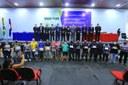 """A Câmara Municipal de Coari realizou uma sessão solene em homenagem aos trabalhadores do Terminal Aquaviário, Equipe de resgate e Outorga de Título de """"Cidadão Coariense"""" marcando o encerramento do primeiro Período Legislativo."""