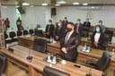 Nesta terça-feira, 20 de abril de 2021, a Câmara Municipal de Coari realizou mais uma sessão ordinária, excepcionalmente sob a Presidência do Vereador Orleilson Lima (PL).