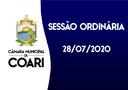 SESSÃO ORDINÁRIA DE 28 DE JULHO DE 2020