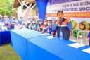 Vereadores participam da Ação de Cidadania e Diagnostico Socioeconômico na comunidade Nossa Senhora de Fatima da costa do Jussara.